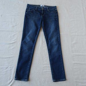 Paige Medium Wash Jimmy Jimmy Skinny Jeans